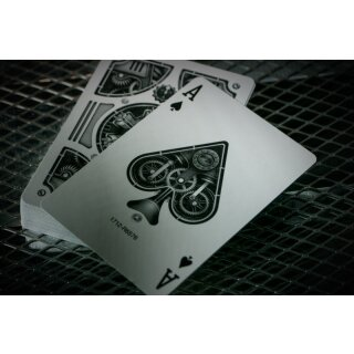 Steampunk Deck Silver Playing Cards by Theory11