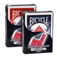 Bicycle - Supreme Line - Double back - Red/Blue