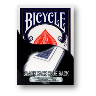 Bicycle - Supreme Line - Blank face/Blue back