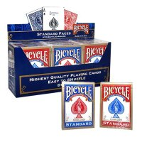 12 x Bicycle Standard 808 Rider Back Poker Karten