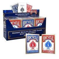 12 x Bicycle Standard 808 Rider Back Poker Karten