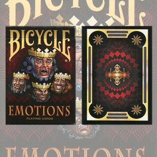 Emotions Bicycle Playing Cards