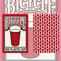 Red Plastic Cup Bicycle Deck
