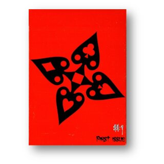 MMD - Limited Edition Comic Book (rot) Deck by Handlordz, LLC