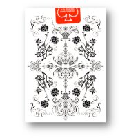 Truth Garden V4 WHITE Deck - Bicycle Playing Cards