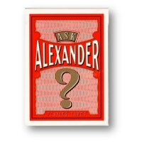 Ask Alexander Playing Cards - Limited Edition by...
