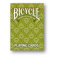 Peacock GRÜN Deck - Bicycle Poker Cards