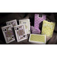 Peacock PURPLE Deck - Bicycle Poker Cards