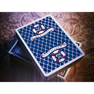 Nautical Playing Cards (BLAU) by House of Playing Cards