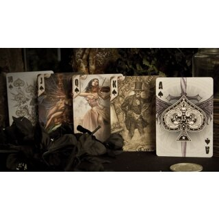 New Alchemy 1977 Deck - Bicycle by Anne Stokes