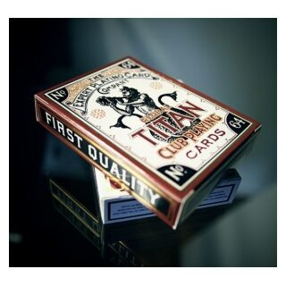 Global Titans Playing Cards by  Conjuring Arts schwarz