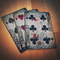Karnival Dead Eyes X Edition Playing Cards
