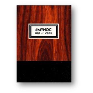 #MYNOC 3 : (Wood) Playing Cards
