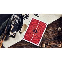 Mountain Wang Yue (Red) Playing Cards by Bocopo