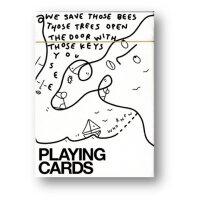 Shantell Martin (White) Playing Cards by theory11