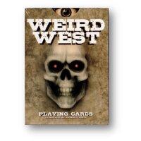 Weird Wild West Playing Cards