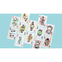 Pure Milk Playing Cards by Hanson Chien