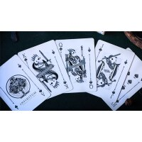 INFINITUM (Ghost White) Playing Cards