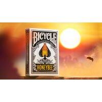 Bicycle Honeybee (Black) Playing Cards