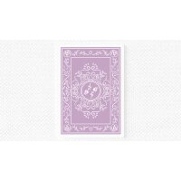 Black Roses Lavender (Marked) Edition Playing Cards
