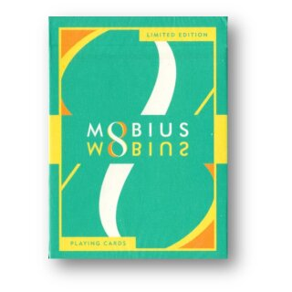 MOBIUS Green Playing Cards by TCC Presents
