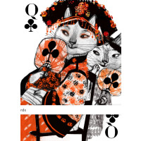 Kitten Club Playing Cards