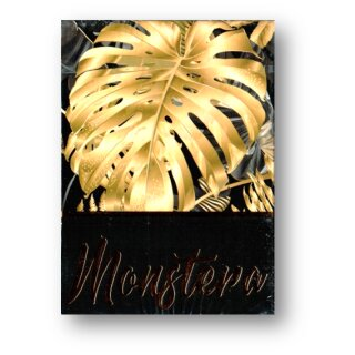 Monstera (Black) Playing Cards by TCC Presents