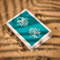MS Splat Deck Laguna Teal Playing Cards