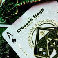 Crossed Keys Playing Cards