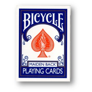 Bicycle Marked Deck - Blue Maiden back