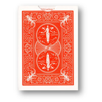 Bicycle Marked Deck - Red Maiden back