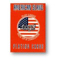 Lingo (American Slang) Playing Cards