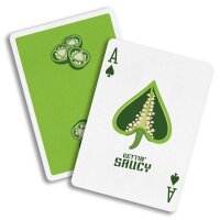 Gettin' Saucy - Jalapeño Pepper Playing Cards