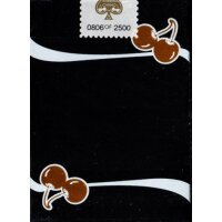 Limited Edition Cherry Casino (Monte Carlo Black and Gold) Numbered Seals Playing Cards