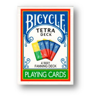 Tetra Fanning Deck - Bicycle by Magic Makers