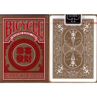 GONG XI FA CAI Deck - Bicycle