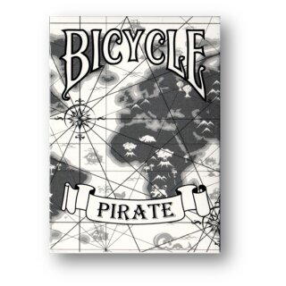 White Pirate Deck - Bicycle by Eric Duan