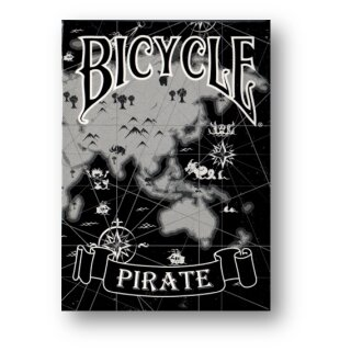 Black Pirate Deck - Bicycle by Eric Duan