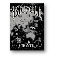 Black Pirate Deck - Bicycle by Eric Duan