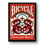 Dragon Back Red Deck - Bicycle