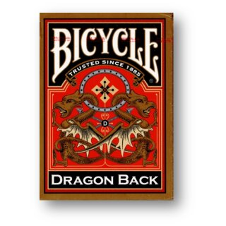 Dragon Back Gold Deck - Bicycle