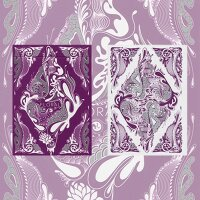 Floral Deck Purple - USPCC by Aloy