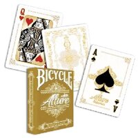 Allure White Deck - Bicycle by Noel Quiles