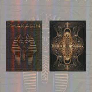 Pharaoh Ltd Edition Foil Deck by Collectable Playing Cards