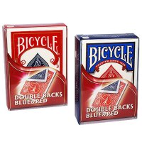 Double Backs - Blue/Red - Bicycle Gaff Karten
