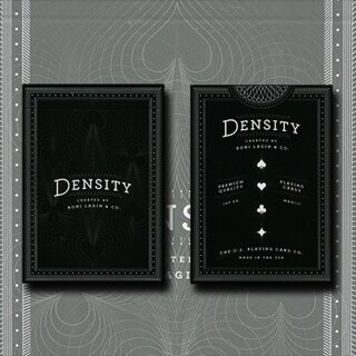 Density Playing Card Deck by Roni Lagin on Bicycle Stock