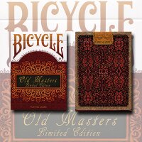 Old Masters Playing Cards - Bicycle (Numbered Limited Edition Tuck and back card) by Collectable Playing Cards