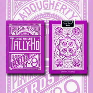 Tally Ho Reverse Fan back (Lavender) Limited Ed. by Aloy Studios