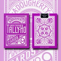 Tally Ho Reverse Fan back (Lavender) Limited Ed. by Aloy...