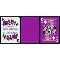 Tally Ho Reverse Fan back (Lavender) Limited Ed. by Aloy Studios